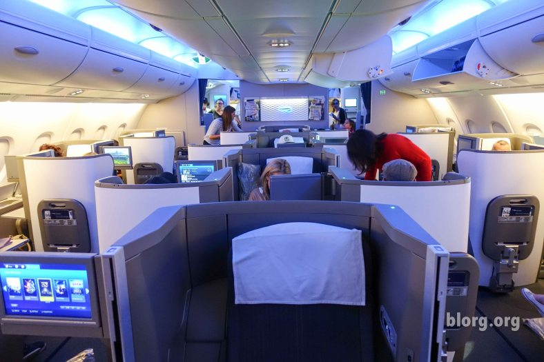 A380 Club World Upper Deck
