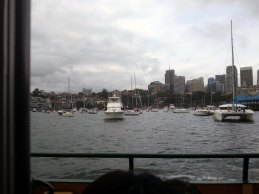 An amazing viewing location if you have boat money